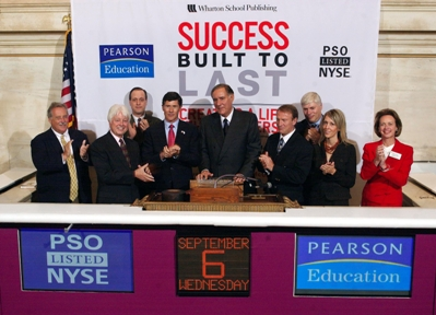 New York Stock Exchange Closing Bell with coauthors Stewart Emery and Mark Thompson and others