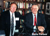 Mark Thompson with Steve Forbes