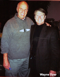 Mark Thompson with Wayne Dyer